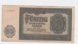 Billet 50 DM De 1948 Pick 14 - [ 7] 1949-… : RFD - Rep. Fed. Duitsland