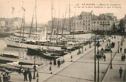 13485430 Le_Havre Bassin Du Commerce Et Vue Sur La Place Gambetta Et Quai Videco - Unclassified