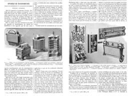 TRANSFORMATEURS ELECTRIQUES à L'EXPOSITION UNIVERSELLE De  1900 - Technical