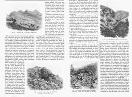 """LES """" CHIRATS """"  Du MASSIF Du PILAT  1900 - Auvergne"""