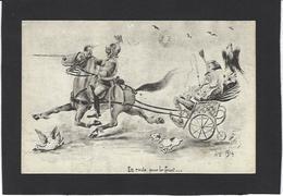 CPA Autriche François Joseph Satirique Caricature Guerre War WWI Anti Kaiser Germany  Non Circulé - Humor