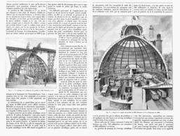 LE PAVILLON Du CREUSOT  à L'EXPOSITION UNIVERSELLE De  1900 - Technical