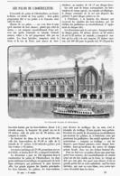 LE PALAIS De L'HORTICULTURE à L'EXPOSITION UNIVERSELLE De  1900 - Technical