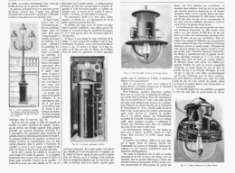 ECLAIRAGE INTENSIF Au PETROLE Systéme KITSON  1900 - Technical