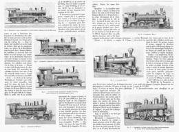 LES LOCOMOTIVES ETRANGERES  à L'EXPOSITION UNIVERSELLE De  1900 - Railway