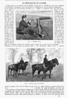LES MITRAILLEUSES De CAVALERIE  1900 - Autres