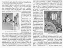 """LA SECURITE Sur Les CHEMINS DE FER Et Le PYROGRAPHE """" MAGNIN FRERES """"  1900 - Ferrovie"""