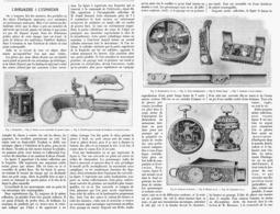 L'HORLOGERIE  à L'EXPOSITION UNIVERSELLE De  1900 - Joyas & Relojería