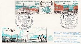TAAF PREMIER JOUR 1976 PA43A 20eme Anniversaire Base Dumont D'Urville 01-01-1976 Terre Adélie - FDC