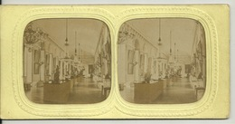 PHOTO STEREOTYPE SUR SUPPORT CARTON / VERSAILLES - SALLE DES BANQUETS - Anciennes (Av. 1900)