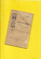 1926 Archéologie ANGLE Sur L'ANGLIN 32 Pages + 2 Plans + Couverture Format 11,5 X 17,5 Cm - Poitou-Charentes