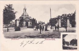 Amsterdam Muiderpoort Inzet Vondelpark Met Koets # 1900 Alexanderplein   389 - Amsterdam