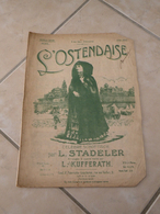 L'Ostendaise (Célèbre Schottisch)-(Musique L. Stadeler) - Partition (Piano) - Instruments à Clavier