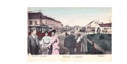POSTCARD-SERBIA-BELGRADE-TRAIN STATION-SEE-SCAN - Serbia
