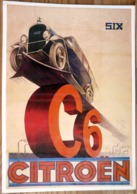 AFFICHE CITROEN SIX 21 X 29.7 - Automobiles