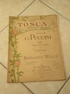 Tosca -(Musique Giacomo Puccini) - Partition (Piano) - Instruments à Clavier