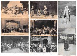 Lot De 35 CPA : Théâtre à NANCY - SPECTACLE Jeanne D'Arc - La Passion Du Christ - Salle Poirel - Nancy