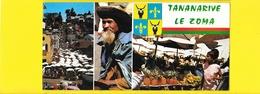 TANANARIVE Panoramique Le Zoma (Hachette) Madagascar Malagasy - Madagascar