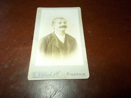 B724   Foto Cartonata Cm10,5x6,5 Giovanni Alifredi Pinerolo - Non Classificati