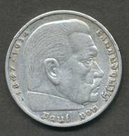 5 Deutsche Mark D 1936 Bundesrepublik Deutschland - [ 4] 1933-1945: Drittes Reich