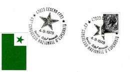 ITALIA - 1978 CESENA (BO) 46° Congresso D'esperanto (stella) - Esperanto