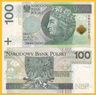 Poland 100 Zlotych P-186 2018(2019) New Date & Signature UNC Banknote - Polonia