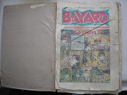 Journal De BAYARD Rare Reliure De 33 Journaux Première édition Après Guerre Du Numéro 1 Au Numéro 33 - Du 8 Décembre1946 - Paquete De Libros