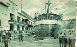 PORT-VENDRES L'EL GOLEA COURRIER D'ALGER AU DEBARCADERE - Port Vendres