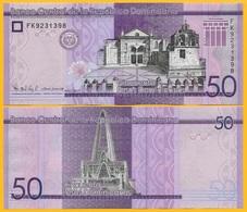 Dominican Republic 50 Pesos Dominicanos P-new 2017(2019) UNC Banknote - Dominicana