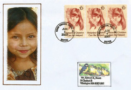 Aide Aux Enfants Handicapés. Retarden Children Can Be Helped !.  Letter From Boise. Idaho. USA - Handicap