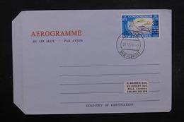 NOUVELLES HÉBRIDES - Aérogramme De Tanna Pour Sale En 1970 , Affranchissement Plaisant - L 32496 - Légende Anglaise