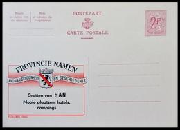 ENTIER CP PUBLIBEL 1960 . PROVINCIE NAMEN .   . NEUF - Publibels