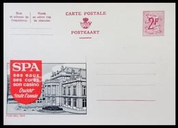 ENTIER CP PUBLIBEL 1969 . SPA . SES EAUX SES CURES SON CASINO.   . NEUF - Publibels