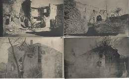88 Ban De Sapt Gemainfaing 1916 WW1 Lot De 4 Carte-photos Légendées Dos Scanné Sans éditeur - Other Municipalities