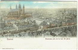 Tournai. Panorama Pris De La Tour St.Bise. - Tournai