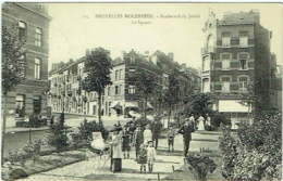 Bruxelles-Molenbeek. Boulevard Du Jubilé. Le Square. - Molenbeek-St-Jean - St-Jans-Molenbeek