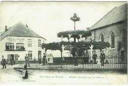 Souvenir De Macon. Arbre Célèbre Du XVe Siècle. Timbre Taxe. - Belgique