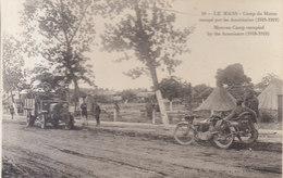 72  .. Le Mans : Camp Du Maroc Occupé Par Les Américains     ///   REF  JUIN .19  / N° 8907 - Le Mans