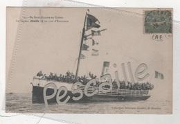 CP ANIMEE DE SAINT-NAZAIRE AU CROISIC - LE VAPEUR ABEILLE 17 UN JOUR D'EXCURSION - DELAVEAU JOUBIER ST NAZAIRE N° 114 - - Bateaux
