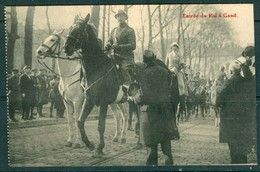 19/6 Belgique Belgie 2 Scans Joyeuse Entrée Du Roi Albert  1 Er En 1909 à Gand Gent - Gent