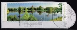 Bund 2018,Michel# 3405 3406 O Wörlitzer Park, Selbstklebend - Gebraucht