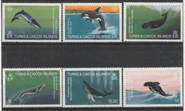 Turks & Caicos - N° 627/32  ** (1983)  Baleines - Turks & Caicos