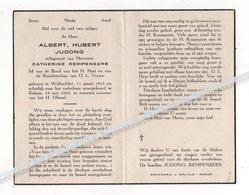 ALBERT HUBERT JUDONG 248 WALTWILDER 1915 + REKEM 1963 / CATHERINE KEMPENEERS - Devotion Images