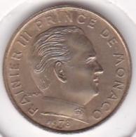 MONACO. 5 CENTIMES 1978 RAINIER III - 1960-2001 Nouveaux Francs