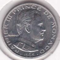 MONACO. 1/2 FRANC 1965 RAINIER III - 1960-2001 Nouveaux Francs