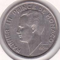 MONACO. 100 FRANCS 1956. RAINIER III - Monaco