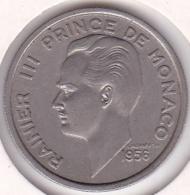 MONACO. 100 FRANCS 1956. RAINIER III - 1949-1956 Anciens Francs