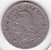 Argentine 10 Centavos 1907  KM# 35 - Argentine