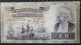 NETHERLANDS 20 GULDEN 1941 - [2] 1815-… : Regno Dei Paesi Bassi