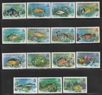 Turks & Caicos - N° 412/26  ** (1978-9)  Poissons - Turks And Caicos